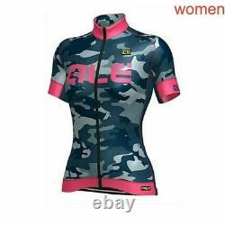 2019 Summer Womens Cycling Jersey Set Camouflage Short Sleeve Bike Sport Uniform