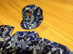 2 sets VIETNAM ARMY CAMOUFLAGE UNIFORM FOR COAST GUARD OFFICER + HAT TYPE K17