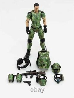 (3 PCS SET) 1/18 Scale Soldier Russian Person Camouflage Uniform Team Soldier HQ