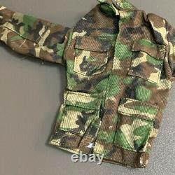 5 Sets 1/6 Scale Jungle Camouflage Combat Army Uniforms 12'' Gi Joe BBI DID Toys