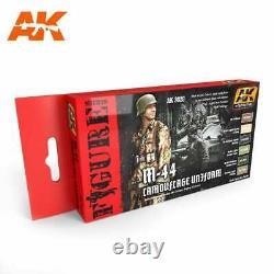 AK Interactive 3020 Figures Series M-44 Camouflage Uniforms set