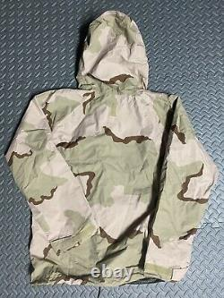 Adventure Tech Gore-Tex Day/Night Desert Camouflage Set Large Reversible NWT