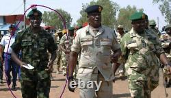 Africa Nigeria Army Woodland Camo Camouflage Uniform Shirt Pants BDU Set