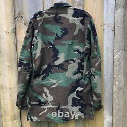 American Apparel Woodland Camouflage Jacket-Sm/Pants-Med Set Combat Military USA