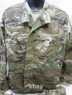 Army Ocp Scorpion Camouflage Uniform Set Medium/long Top & Pants Normal Material