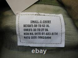 Army Ocp Scorpion Camouflage Uniform Set Small/x-short Top&pants Normal Material