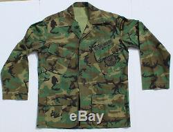 Attributed US Special Forces Advisor to El Salvador Camouflage Uniform Set