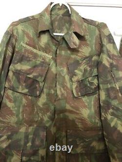 Brazilian Army Lizard Camo Obsolete Pattern 80s Camouflage Uniform Set Cammo