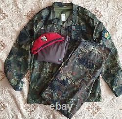 Bulgarian Army Digital Flectarn Camouflage Uniform full set brand new