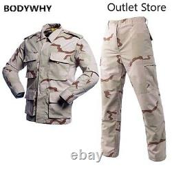 Camouflage Tactical Uniforms Men Army Combat Suit Sets Military Clothing Sets