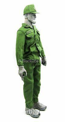 Captain America Camouflage Ver. Green Military Uniform Set