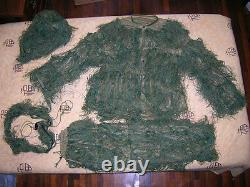 China PLA Army Sniper Woodland Camouflage Combat Clothing, Pants, Hat, Belt, Set