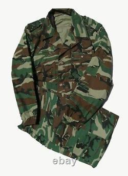 Chinese old style Border Guard woodland pattern camouflage set size 175/96