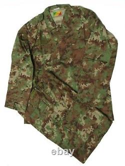 Congo Digital Camouflage BDU Set Size Large Regular