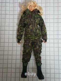 Custom Military Figure 1/6 Camouflage military uniform & equipment + body set