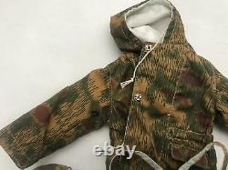 DID figure 12 inch 1/6 WWII German Hans Ebner camouflage winter set