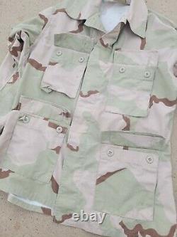 Desert Camouflage Uniform DCU Set. Jacket and Pants. Medium Regular. GWOT
