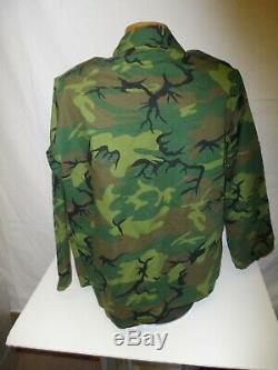 ERDL44R Vietnam ERDL US Adviser Advisor Ranger Camouflage Uniform Set 44J 34 U1B