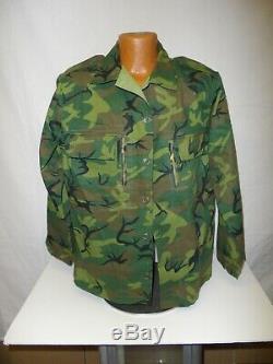 ERDL48R Vietnam ERDL US Adviser Advisor Ranger Camouflage Uniform Set 48J 40 U1B