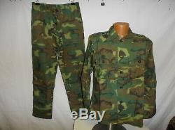 ERDL-1 RVN Vietnamese Airborne Camouflage Uniform Set S 42J 32T W13E