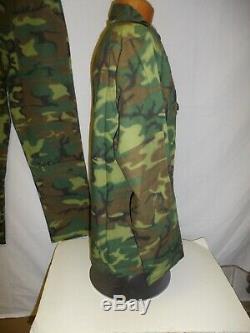 ERDL-3 RVN Vietnamese Airborne Camouflage Uniform Set L 46J 36T W13E
