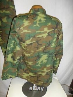ERDL-4 RVN Vietnamese Airborne Camouflage Uniform Set XL 48J 38T W13D