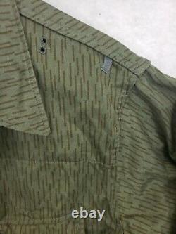 East German SG 56 Uniform Camouflage Camo Rain Tunic Trousers Suspenders SET