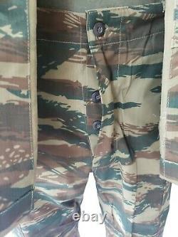 Greek Army Military Surplus Lizard Woodland Camouflage Combat Uniform Set Large
