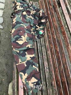 Hungarian 4 Colour Camo Camouflage Uniform Set New M2000 Hungary Combat Bdu