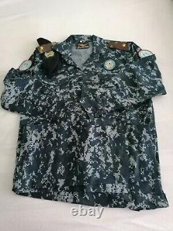 Iraq Army camouflage bdu camo set uniform set Iraq Arab army police
