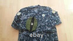 Iraq Army police specs genuine camouflage uniform set camo bdu