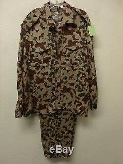 Iraqi Military Forces Desert Block Camouflage National Guard Uniform Set (A2473)