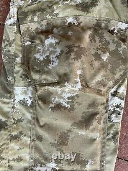 Italian Military Deserto camouflage set, shirt, pants, boonie hat, XL size