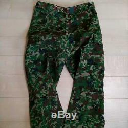 JGSDF camouflage suit top and bottom set combat suit survival game hat leg bag