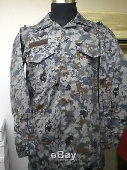 L size Japan Air Self Defense Force Digital Camouflage Clothing co-ord camo set