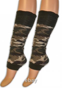 Ladies Camouflage Army Soldier Fancy Dress Military Costume Outfit Hen Party Do
