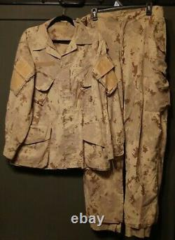 Large Set CADPAT AR Canadian 2nd Patt Camouflage 38 Waist 44 Chest Shirt Pants