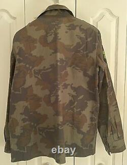 Latvian Interior Ministry Camouflage Uniform Set-Jacket, 2 Pants, Hat