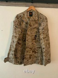 Marine Corps USMC MARPAT Digital Desert Camouflage (Cammie) Set MR