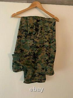 Marine Corps USMC MARPAT Digital Woodland Camouflage (Cammie) Set MR