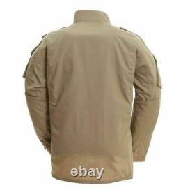 Men Coat Outerwear Army Military Tactical Combat Jacket Pants Sport Uniform Set