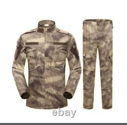 Men's Army Military Uniform Tactical Suit Special Forces Suit Camouflage Clothes