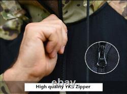 Mens Army Combat Uniform T-shirt Pants Military Tactical Camouflage SWAT BDU Set