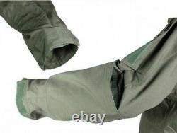 Mens Coat Outerwear Military Tactical Combat Jacket Pants Set Uniform Army Green