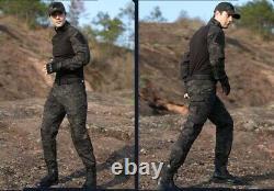 Military BDU Tactical Uniform Shirt Pants Set Pant Hunting Airsoft Camouflage