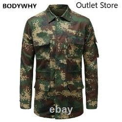 Military Tactical Uniform Coat Camouflage Coat Camouflage Training Clothing Sets