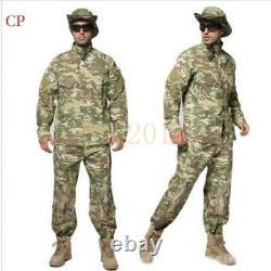 NEW Men Military Tactical Sets Special Force Combat Uniform Jacket&Pants Suits