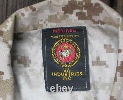 NEW Set Marine Corps MARPAT Digital Camouflage Med Regular Trousers Shirt USMC