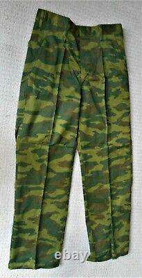 Original Russian Army Chechen War Era VSR-98 Flora Camouflage Summer Set