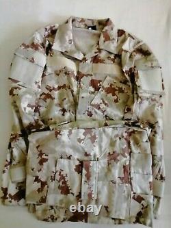 Qatar Army Digital Desert Camouflage bdu camo set uniform